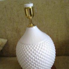 Vintage: LAMPARA DE CERÁMICA AÑOS 50 MADRID. Lote 39961334