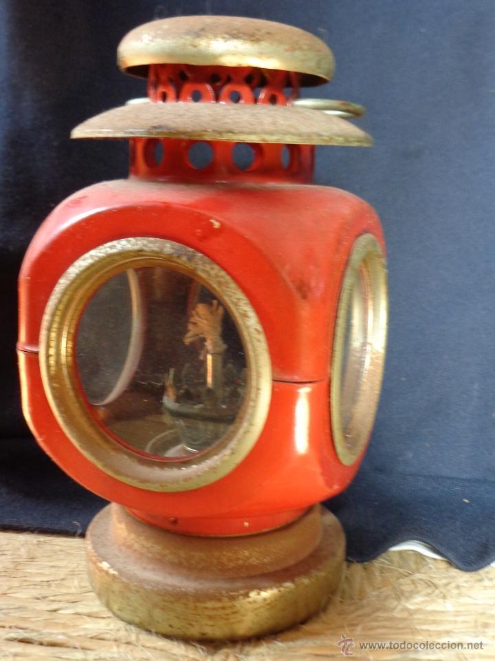 PRECIOSO FAROLILLO VINTAGE DECORACIÓN (Vintage - Lámparas, Apliques, Candelabros y Faroles)