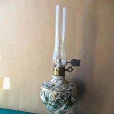 Vintage: LAMPARA DE MESILLA DE CERAMICA. Lote 40304873