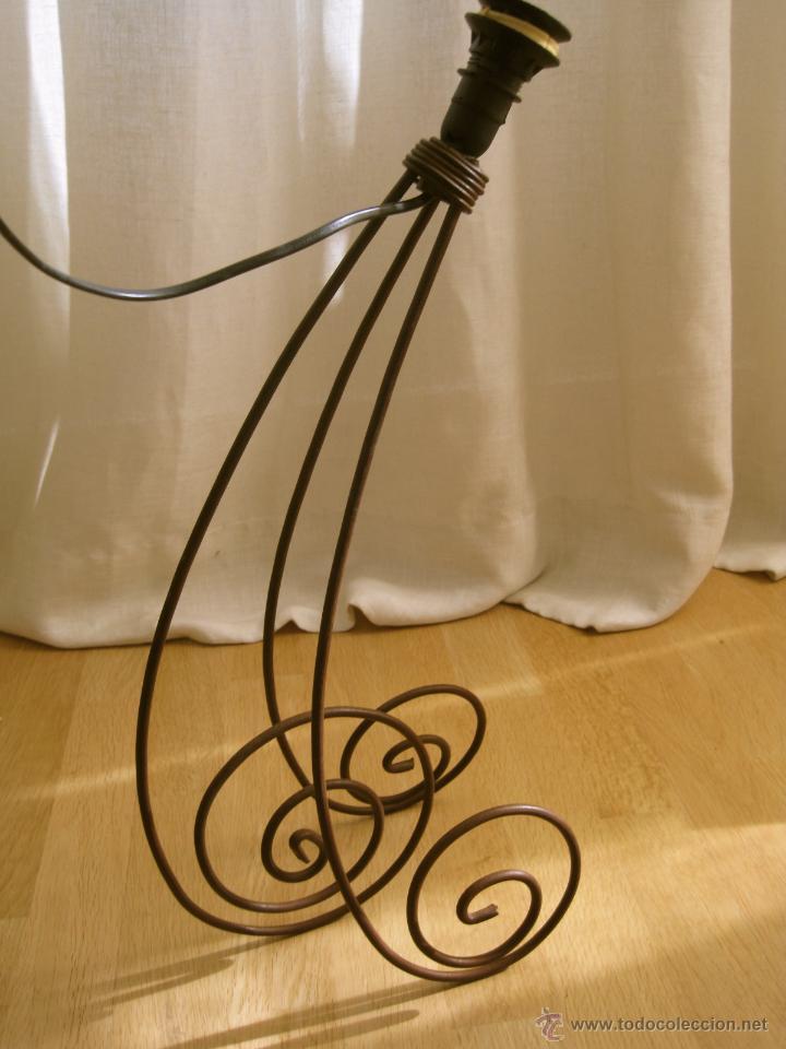LAMPARA DE MESA VINTAGE GRANDE---50 CM (Vintage - Lámparas, Apliques, Candelabros y Faroles)