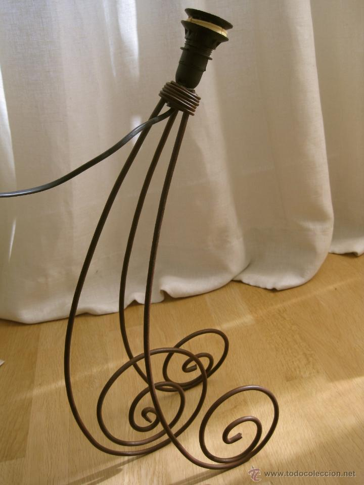 Vintage: LAMPARA DE MESA VINTAGE GRANDE---50 cm - Foto 3 - 40550545