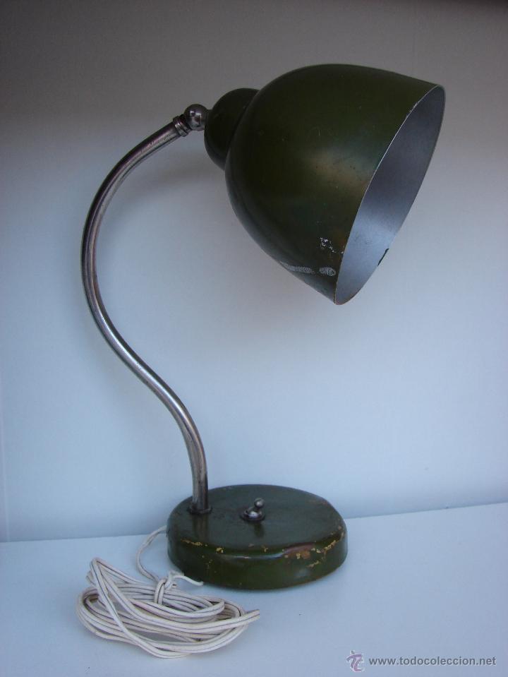 Antigua de mesaaños en indust lampara 40estilo Vendido 6Ybgfy7