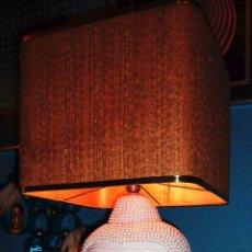 Vintage: LAMPARA SOBREMESA CERAMICA FRANCESA-STILO MAISON FRANCES TOP. Lote 41751673