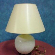Vintage: LAMPARA SOBREMESA PORCELANA ITALIANA. Lote 42218118