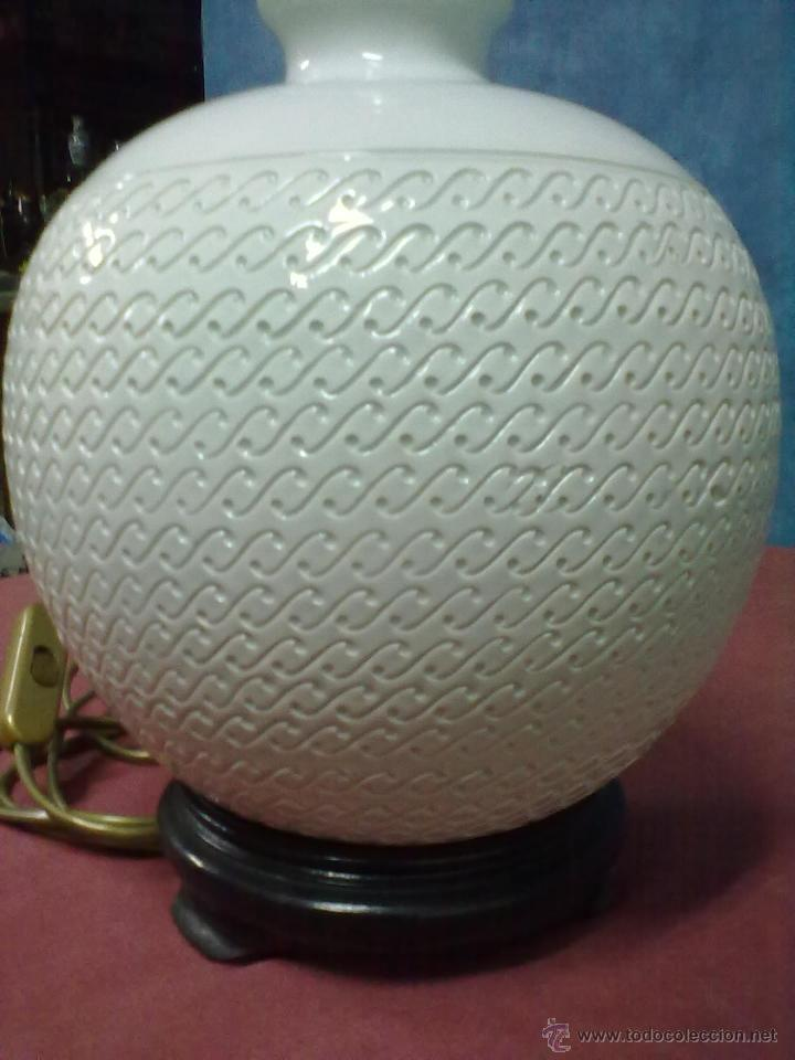 Vintage: LAMPARA SOBREMESA PORCELANA ITALIANA - Foto 2 - 42218118
