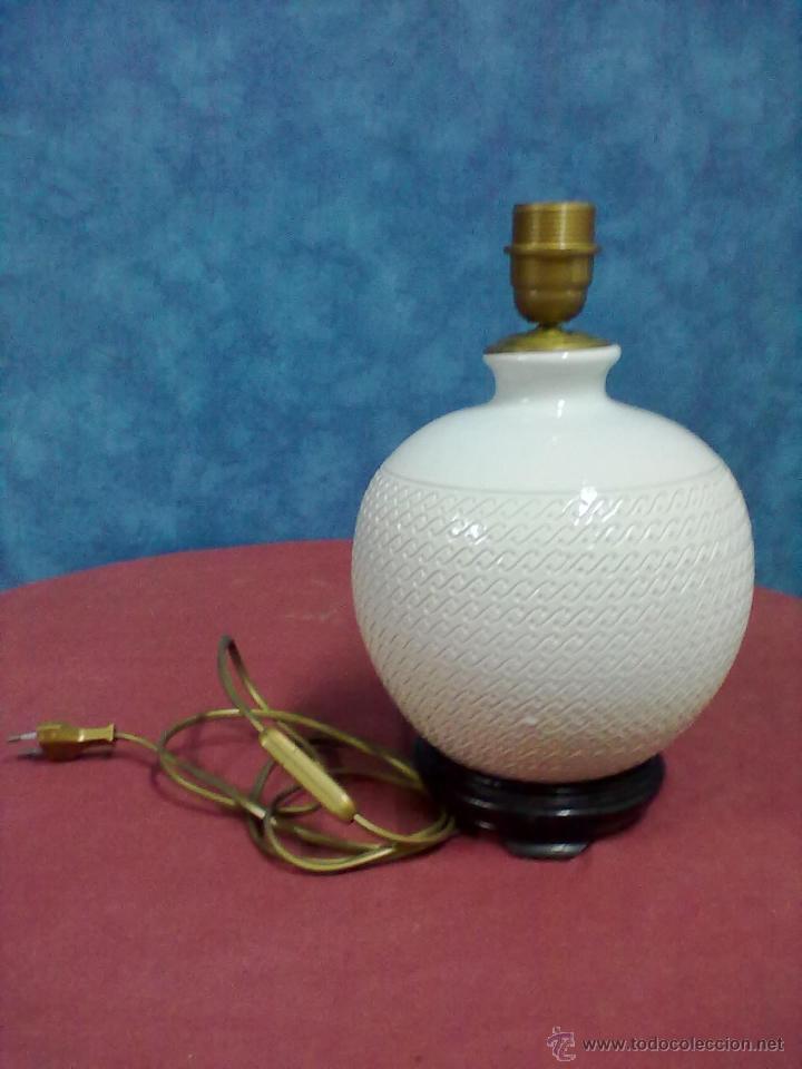 Vintage: LAMPARA SOBREMESA PORCELANA ITALIANA - Foto 3 - 42218118