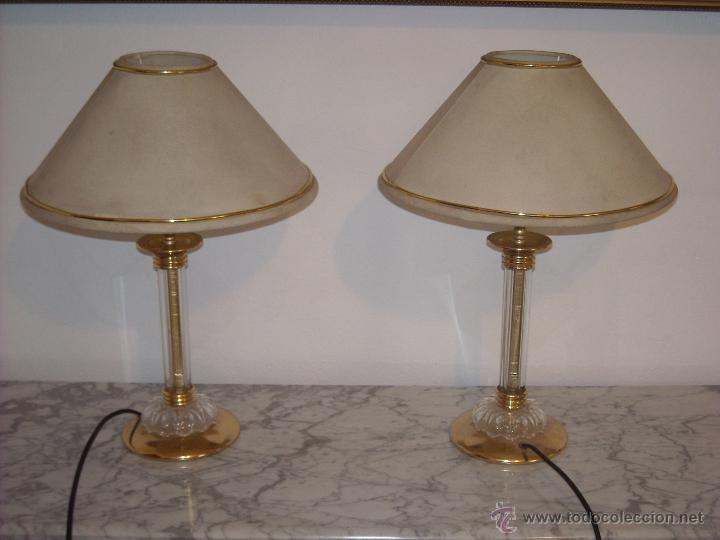 lamparas mesita de noche vintage lmparas apliques candelabros y faroles - Lamparas Mesita Noche