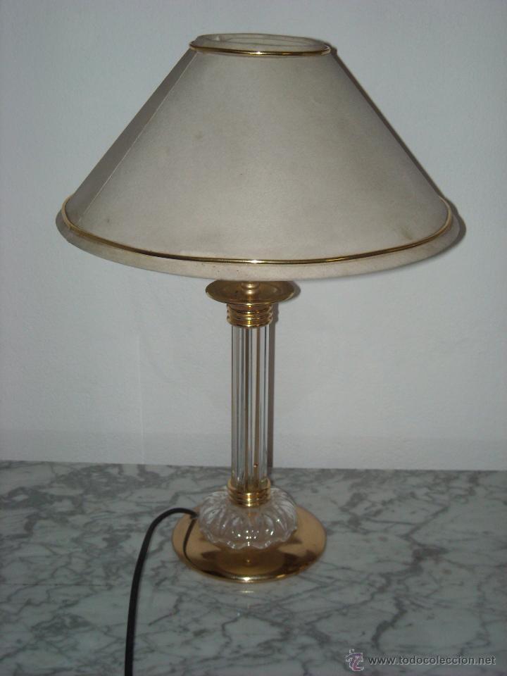 vintage lamparas mesita de noche foto