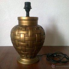 Vintage: LAMPARA PIE CERAMICA. Lote 42479872