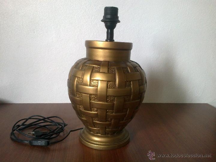 Vintage: LAMPARA PIE CERAMICA - Foto 2 - 42479872