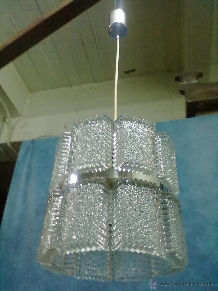 LAMPARA FAROL VINTAGE (Vintage - Lámparas, Apliques, Candelabros y Faroles)