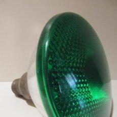 Vintage: BOMBILLA COLOR VERDE 80W. Lote 42953856