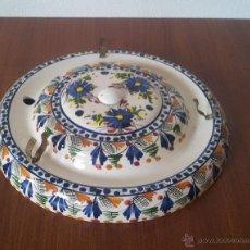 Vintage: PLAFON .LAMPARA.CERAMICA TECHO . REDONDO. Lote 153875225