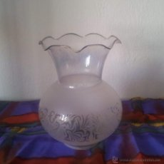 Vintage: TULIPA QUINQUE PARA LAMPARA. Lote 43400731