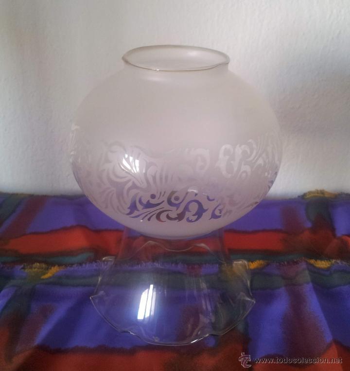 Vintage: TULIPA QUINQUE PARA LAMPARA - Foto 2 - 43400731