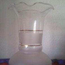 Vintage: TULIPA QUINQUE PARA LAMPARA. Lote 43401222
