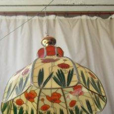Vintage: LAMPARA DE TECHO TIFFANY. Lote 43462622