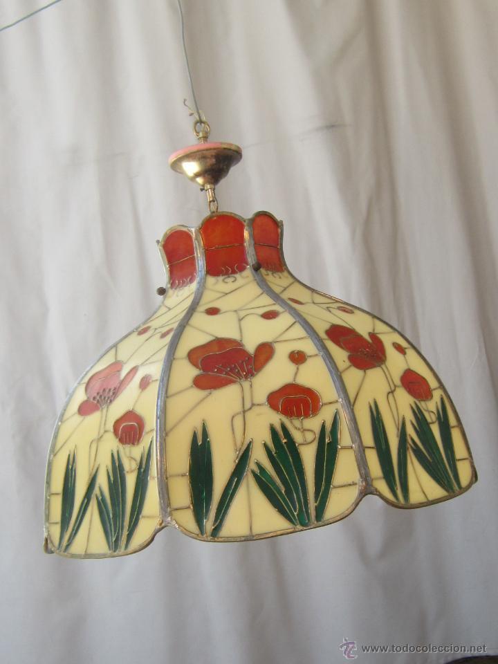 Vintage: LAMPARA DE TECHO TIFFANY - Foto 2 - 43462622