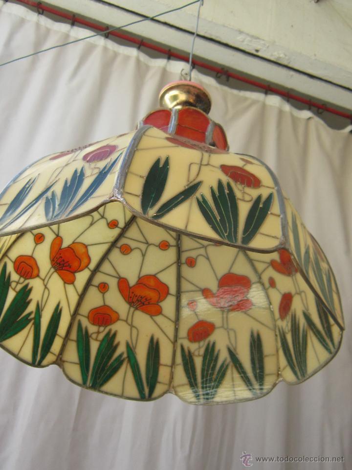 Vintage: LAMPARA DE TECHO TIFFANY - Foto 7 - 43462622