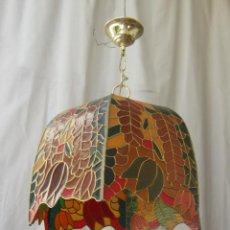 Vintage: LAMPARA DE TECHO TIFFANY. Lote 43462668