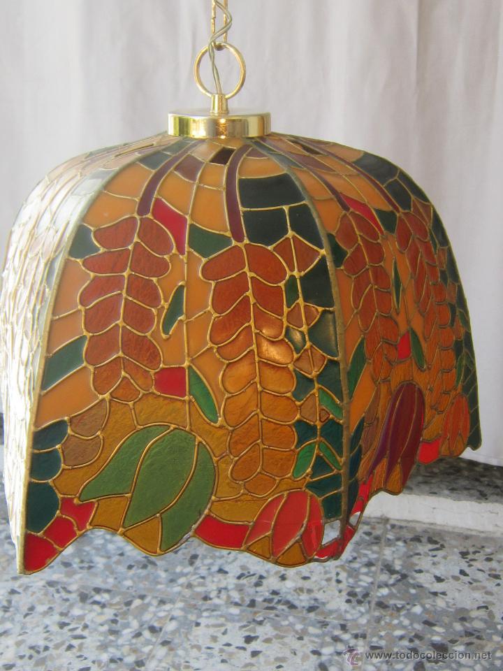 Vintage: LAMPARA DE TECHO TIFFANY - Foto 2 - 43462668