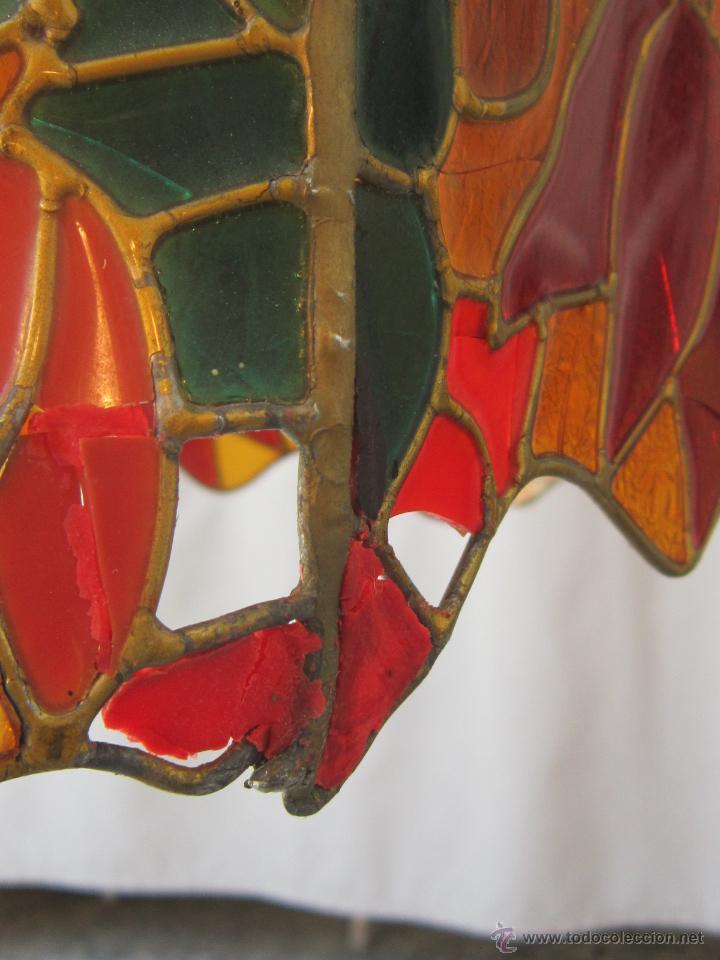 Vintage: LAMPARA DE TECHO TIFFANY - Foto 4 - 43462668
