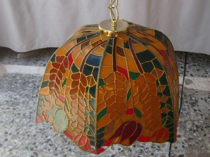 Vintage: LAMPARA DE TECHO TIFFANY - Foto 6 - 43462668