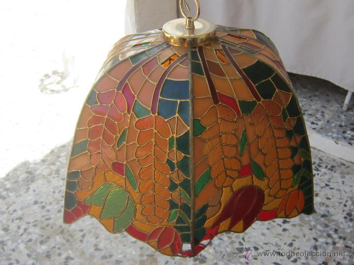 Vintage: LAMPARA DE TECHO TIFFANY - Foto 11 - 43462668