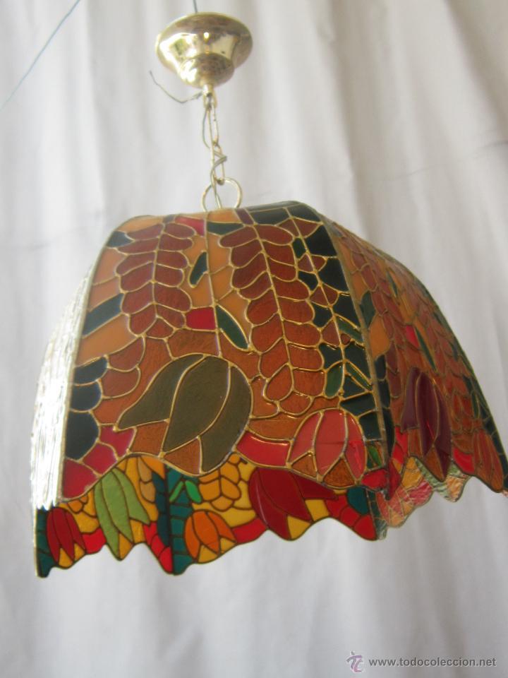 Vintage: LAMPARA DE TECHO TIFFANY - Foto 12 - 43462668