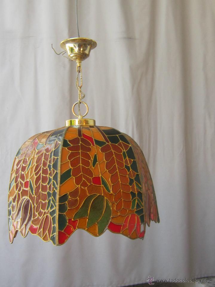 Vintage: LAMPARA DE TECHO TIFFANY - Foto 13 - 43462668
