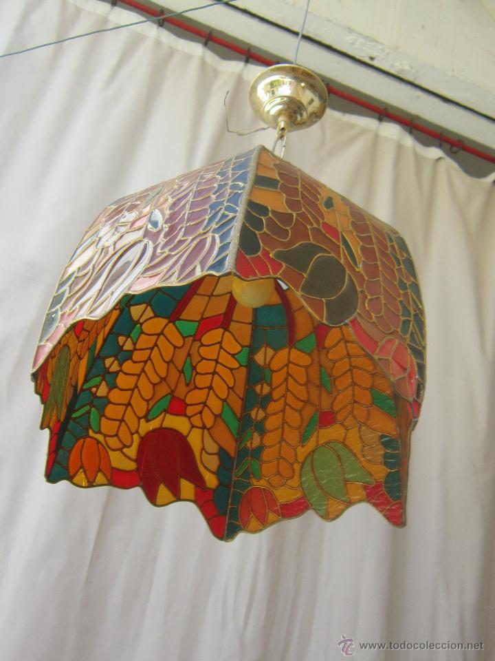 Vintage: LAMPARA DE TECHO TIFFANY - Foto 14 - 43462668