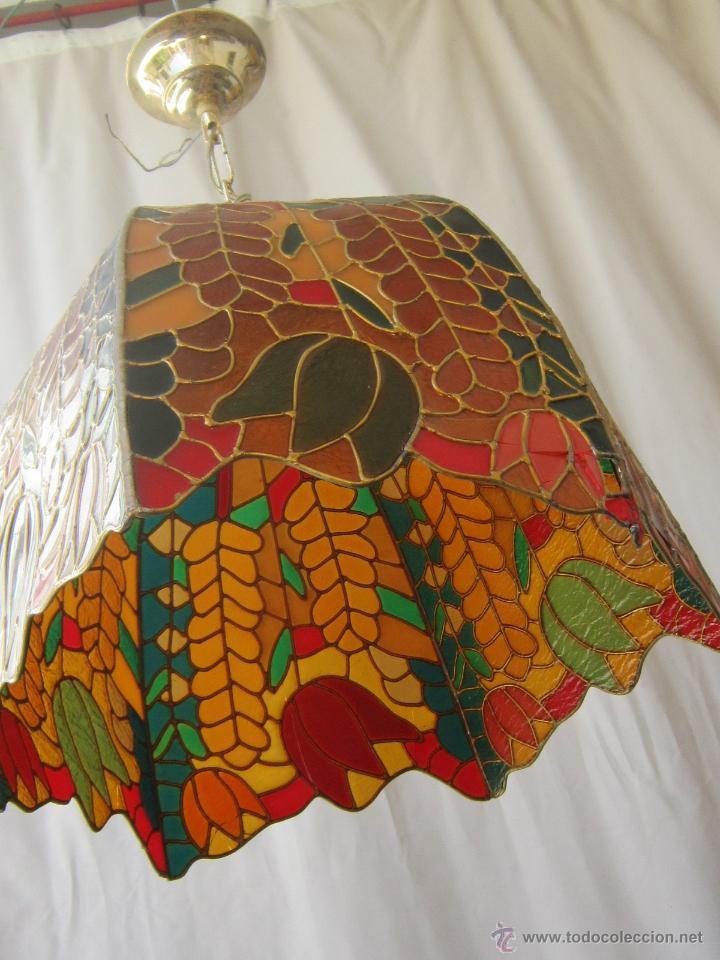 Vintage: LAMPARA DE TECHO TIFFANY - Foto 15 - 43462668