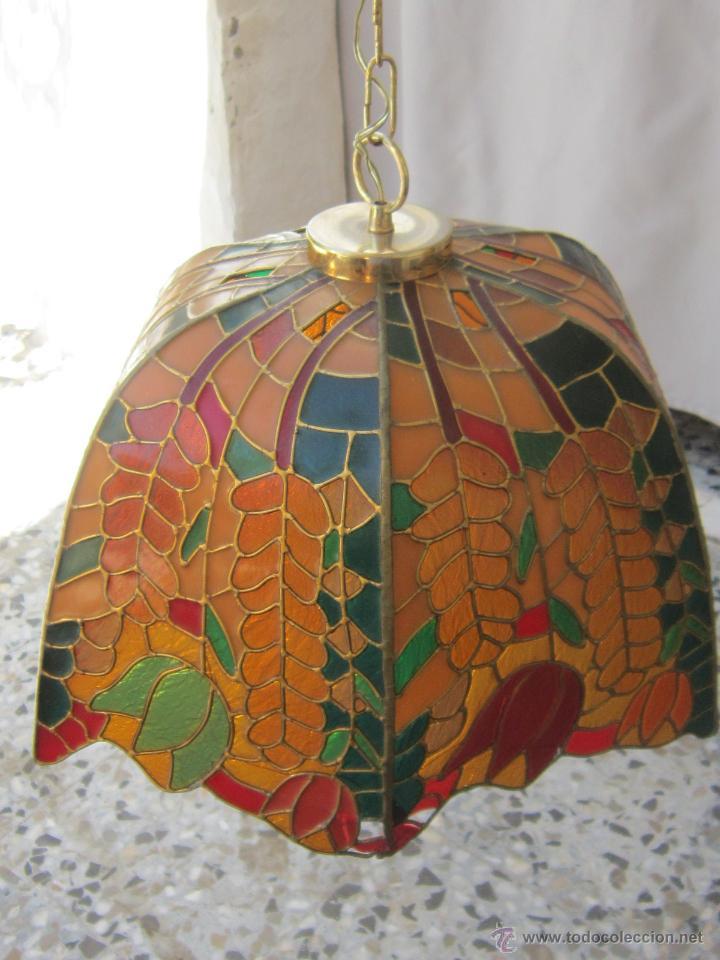 Vintage: LAMPARA DE TECHO TIFFANY - Foto 16 - 43462668