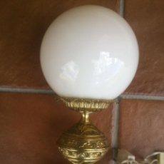 Vintage: ANTIGUA LAMPARA DE SOBREMESA EN BRONCE.. Lote 43592522