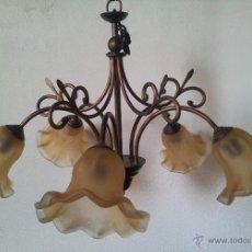 Vintage: LAMPARA TECHO . 5 BRAZOS . Lote 43597978