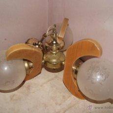 Vintage: LAMPARA DE 3 GLOBOS . Lote 43908878