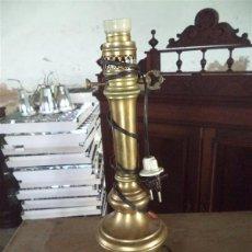 Vintage: LAMPARA DE METAL DE MESITA . Lote 43926541