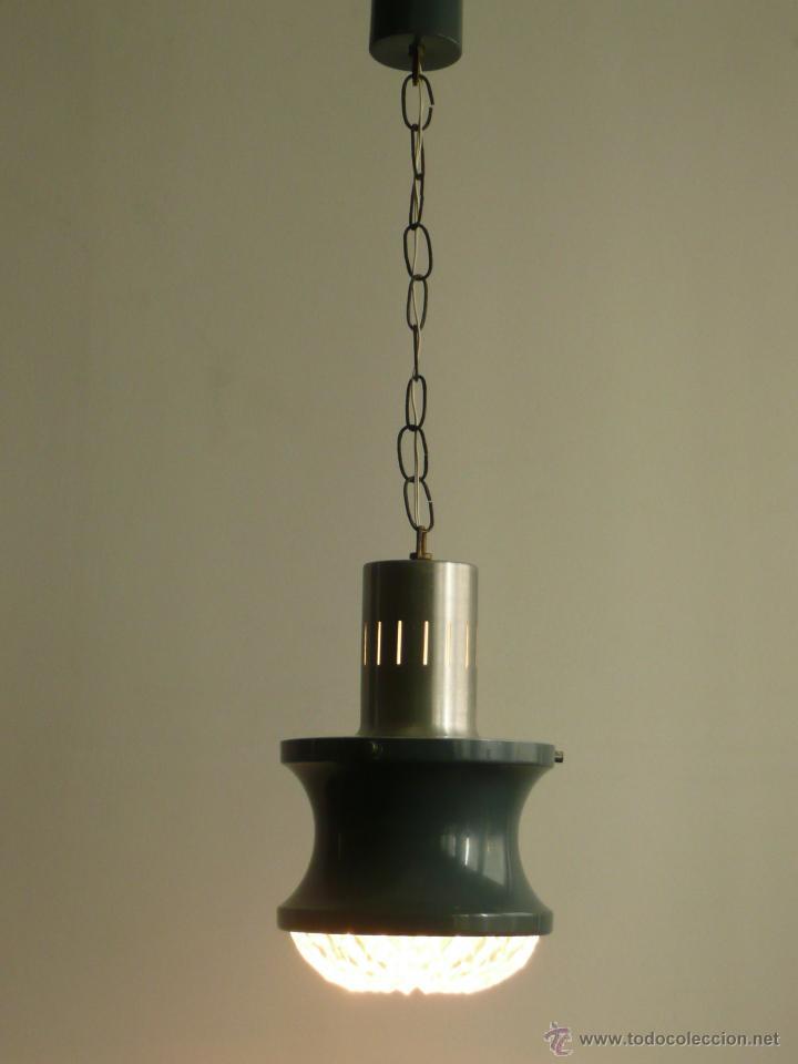 LÁMPARA DE TECHO AÑOS 70 RETRO VINTAGE (Vintage - Lámparas, Apliques, Candelabros y Faroles)