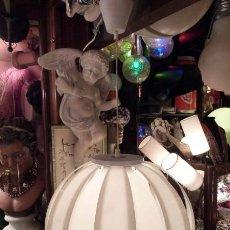 Vintage: LAMPARA TECHO ESFERA MOON EN METACRILATO.ORIGINAL AÑOS 70. Lote 44319051