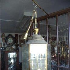 Vintage: FAROL DE METAL. Lote 44746911