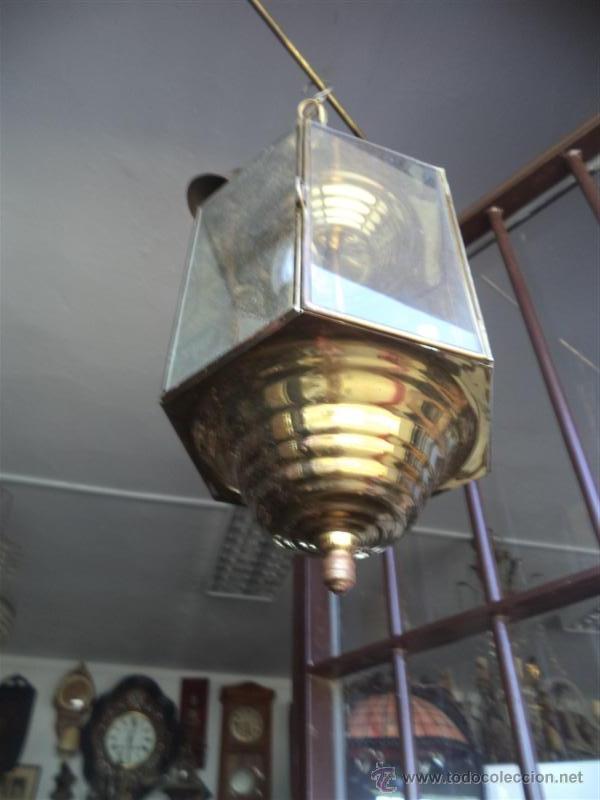 Vintage: farol de metal - Foto 2 - 44746911
