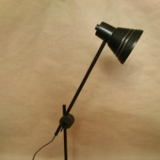 Vintage: (1) LAMPARA FLEXO TIPO VENETA LUMI - ALTURA Y ORIENTACIÓN REGULABLE - VINTAGE ORIGINAL. Lote 44965883