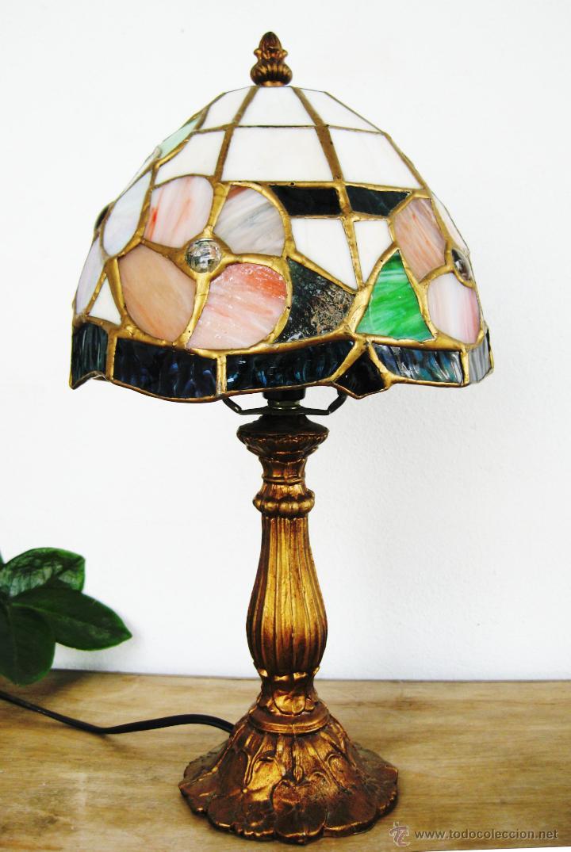 preciosa lampara tifany vintage cristal emploma Comprar Lmparas