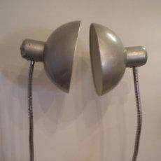 Vintage: FLEXO LAMPARA INDUSTRIAL METAL VINTAGE ANTIGUA. Lote 45192705
