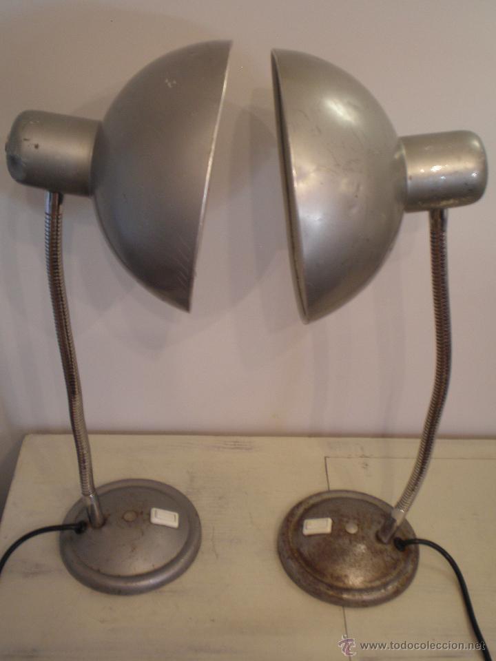 Vintage: FLEXO LAMPARA INDUSTRIAL METAL VINTAGE ANTIGUA - Foto 2 - 45192705