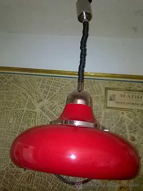 LÁMPARA DE SUSPENSIÓN, ITALIA FRATELLI GIANELLI (Vintage - Lámparas, Apliques, Candelabros y Faroles)