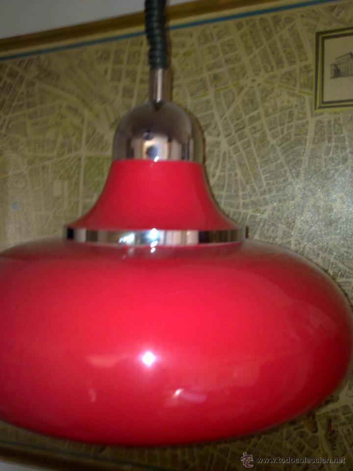Vintage: Lámpara de suspensión, Italia Fratelli Gianelli - Foto 6 - 45200587