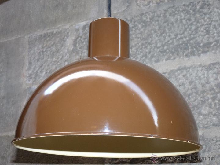 Vintage: Lámpara de techo icono de los años 70 'Midi Bunker', diseñada por Jo Hammerborg para Fog & Mørup. - Foto 2 - 45356794