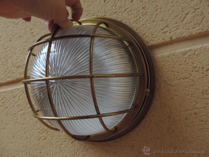 Aplique pared o techo plaf n farol foco comprar l mparas vintage apliques - Apliques y lamparas ...