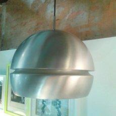 Vintage: LAMPARA DE TECHO COLGANTE METAL AÑOS 60 - METALARTE. Lote 45624627